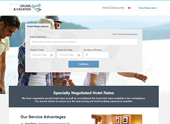 Search for Specially Negotiated Hotel Rates